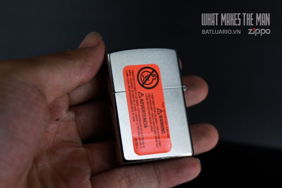 ZIPPO 207 DON'T MESS WITH THE US 4