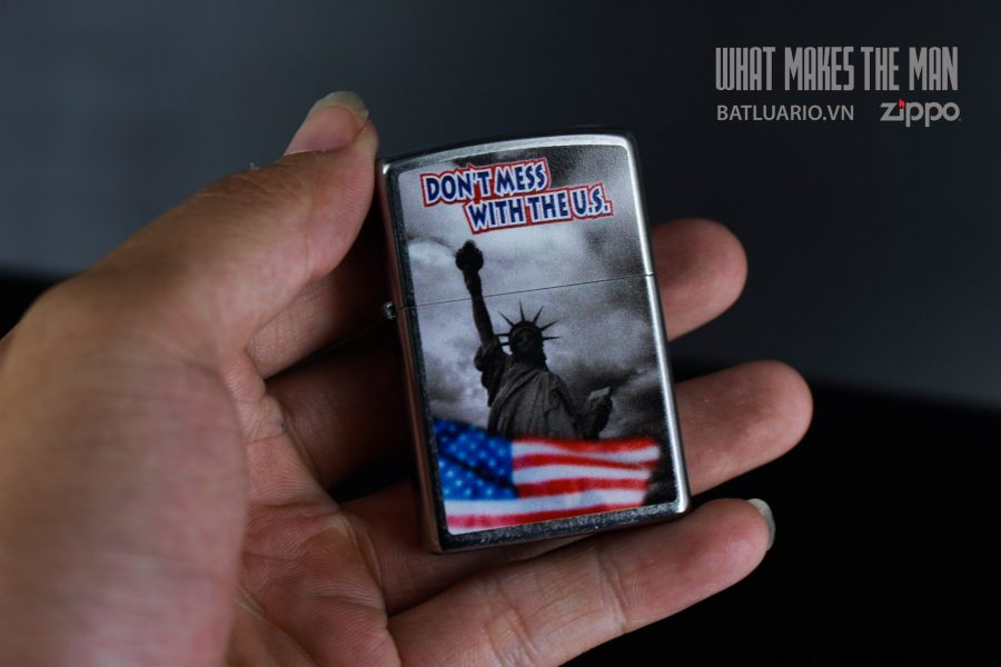 ZIPPO 207 DON'T MESS WITH THE US 5