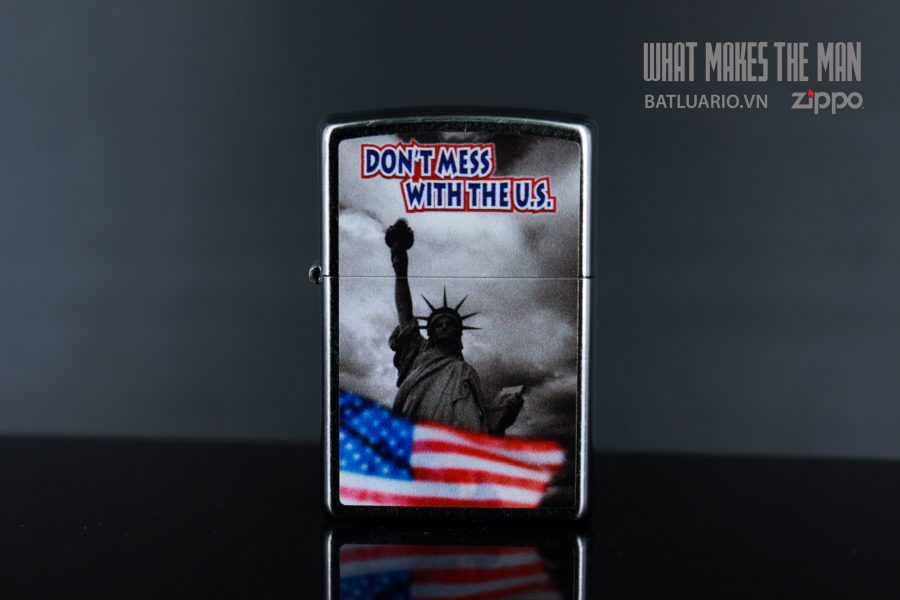 ZIPPO 207 DON'T MESS WITH THE US 6