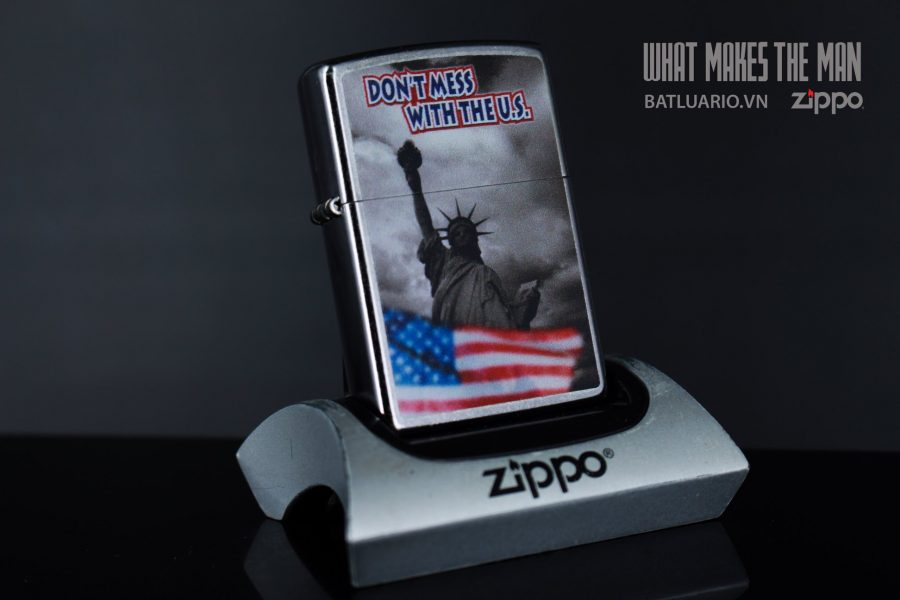 ZIPPO 207 DON'T MESS WITH THE US