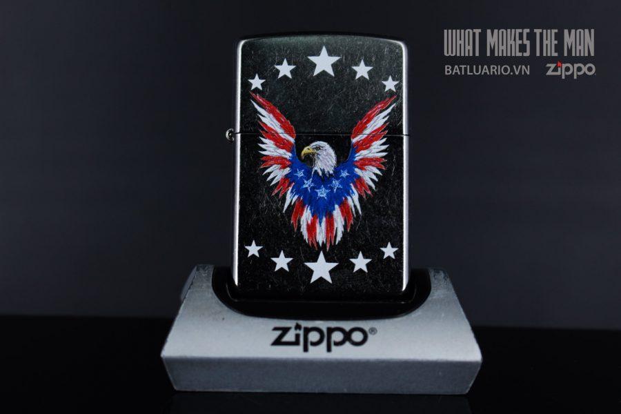 ZIPPO 207 EAGLE AND SHIELD 1