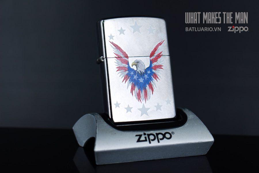ZIPPO 207 EAGLE AND SHIELD