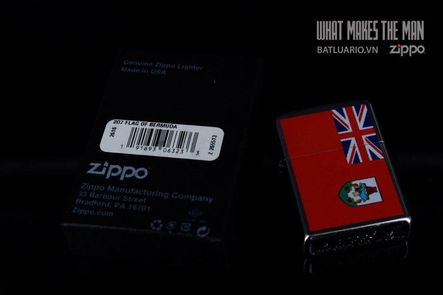 ZIPPO 207 FLAG OF BERMUDA 1