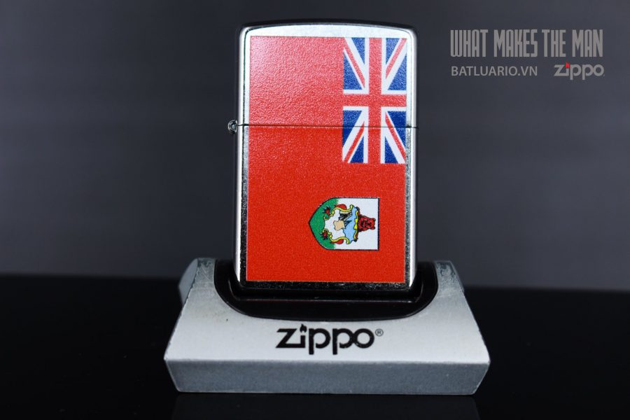 ZIPPO 207 FLAG OF BERMUDA 2