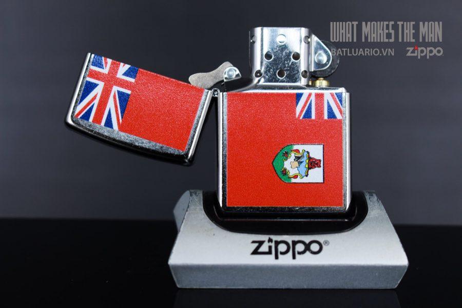 ZIPPO 207 FLAG OF BERMUDA 3