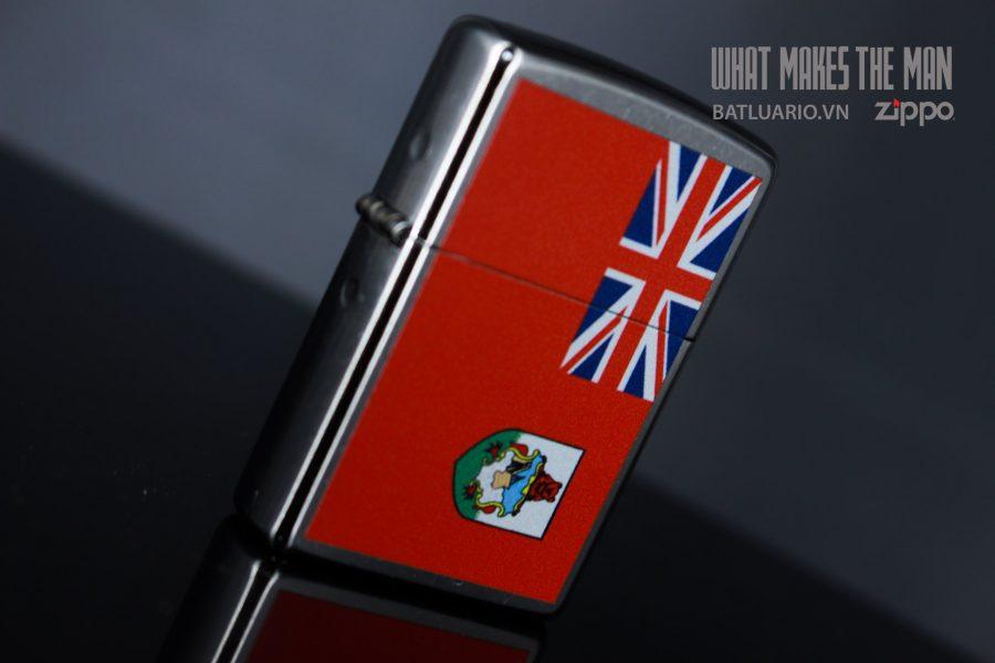 ZIPPO 207 FLAG OF BERMUDA 5