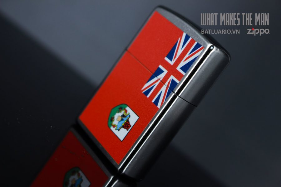 ZIPPO 207 FLAG OF BERMUDA 6
