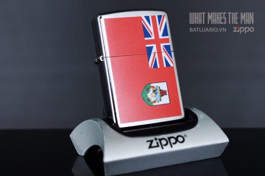 ZIPPO 207 FLAG OF BERMUDA