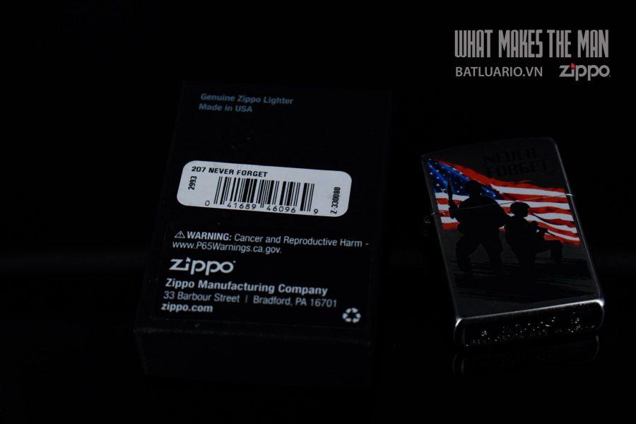 ZIPPO 207 NEVER FORGET 1
