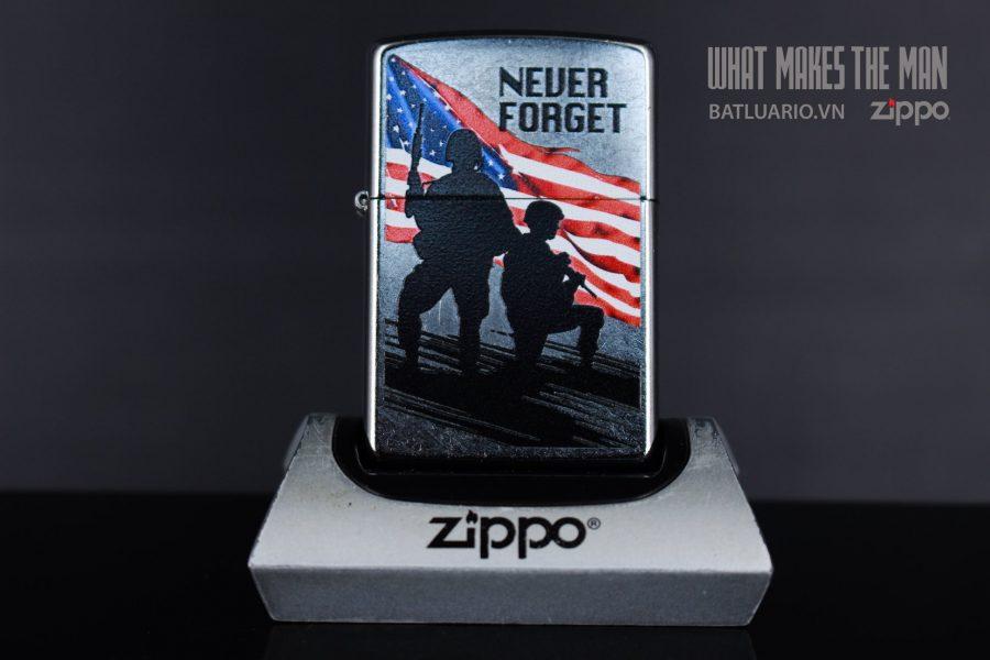 ZIPPO 207 NEVER FORGET 2