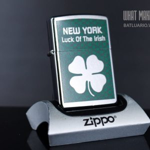 ZIPPO 207 NEW YORK LUCK OF THE IRISH
