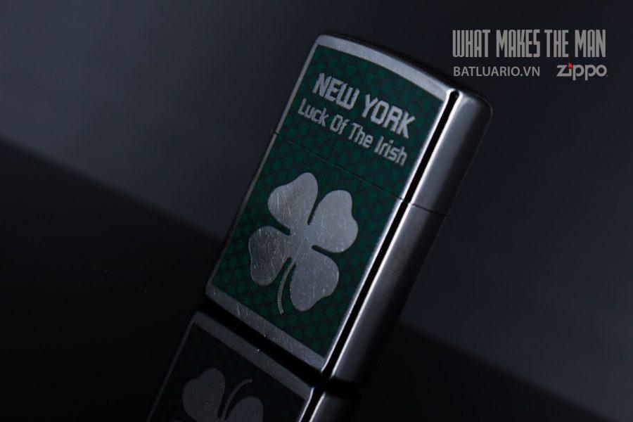 ZIPPO 207 NEW YORK LUCK OF THE IRISH 4