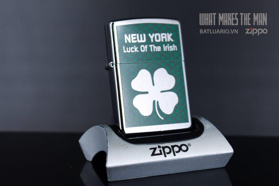ZIPPO 207 NEW YORK LUCK OF THE IRISH