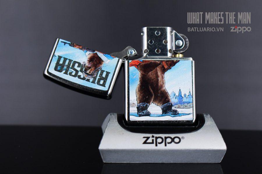 ZIPPO 207 RUSSIAN BEAR DESIGN 4