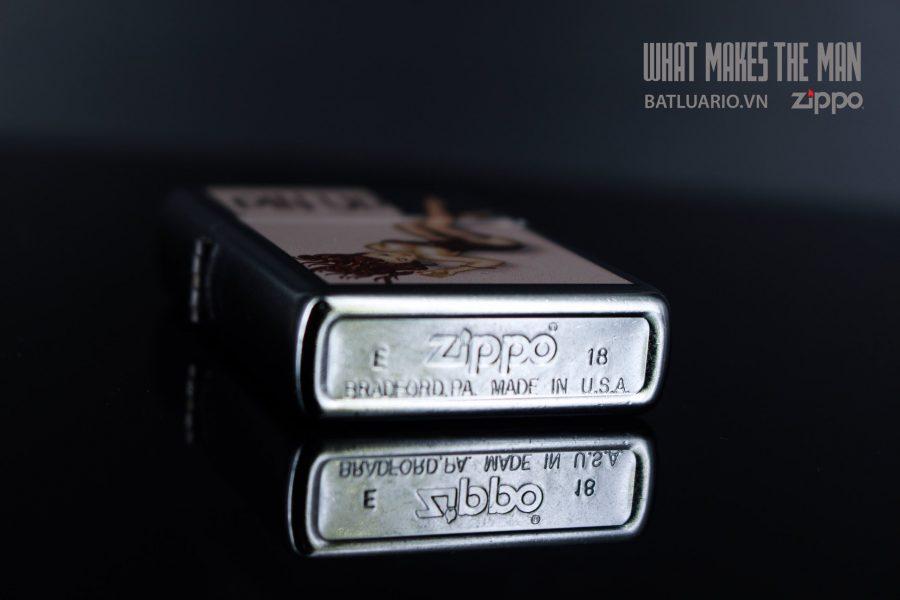 ZIPPO 207 VINTAGE PIN UP 4