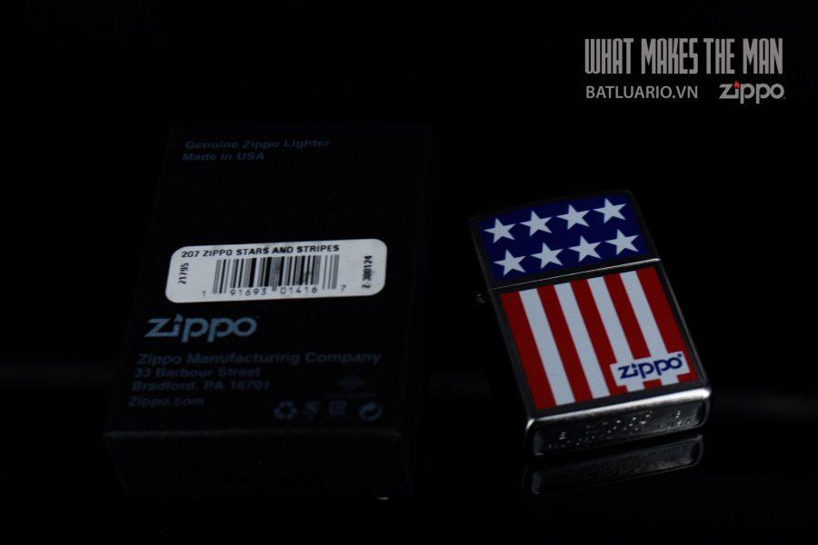 ZIPPO 207 ZIPPO STARS AND STRIPES 1