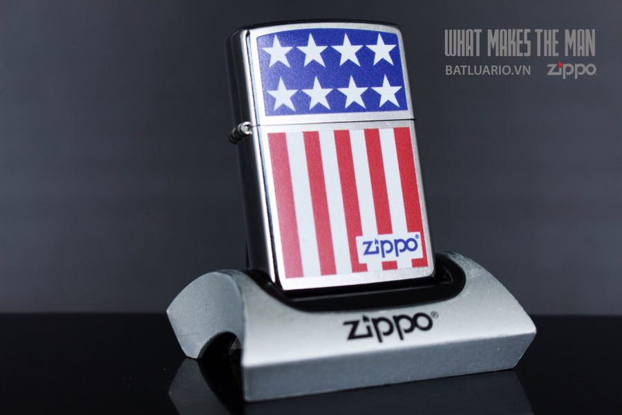 ZIPPO 207 ZIPPO STARS AND STRIPES
