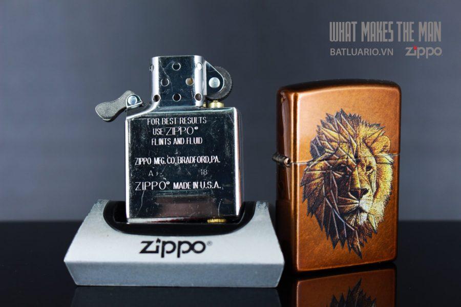 ZIPPO 21184 POLYGON LION DESIGN 4