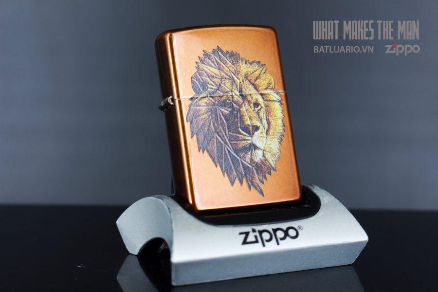 ZIPPO 21184 POLYGON LION DESIGN