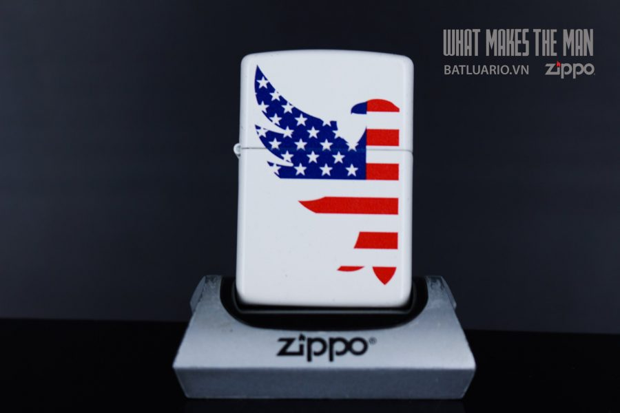 ZIPPO 214 EAGLE FLAG DESIGN