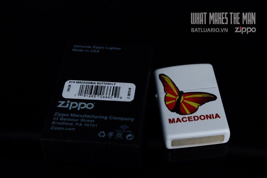 ZIPPO 214 MACEDONIA BUTTERFLY 1