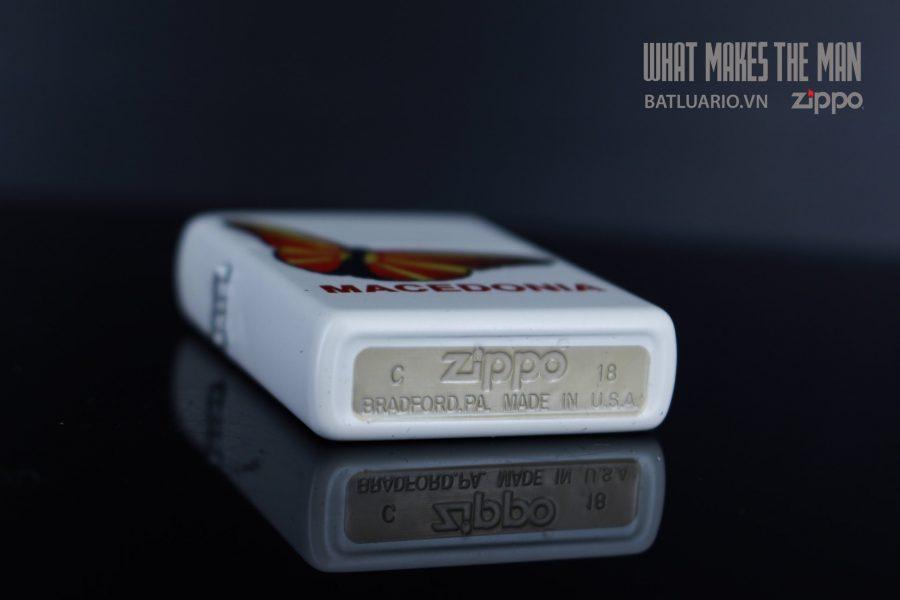 ZIPPO 214 MACEDONIA BUTTERFLY 4
