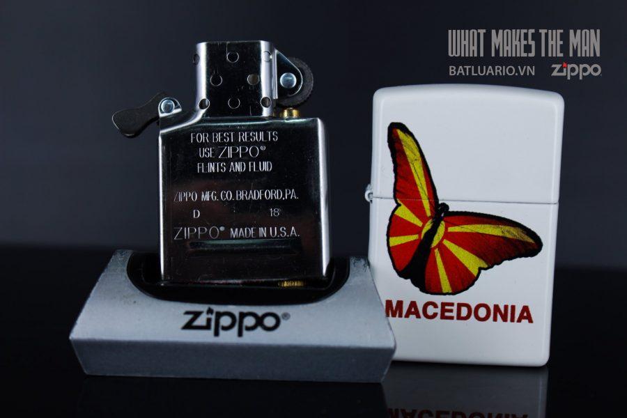 ZIPPO 214 MACEDONIA BUTTERFLY 6
