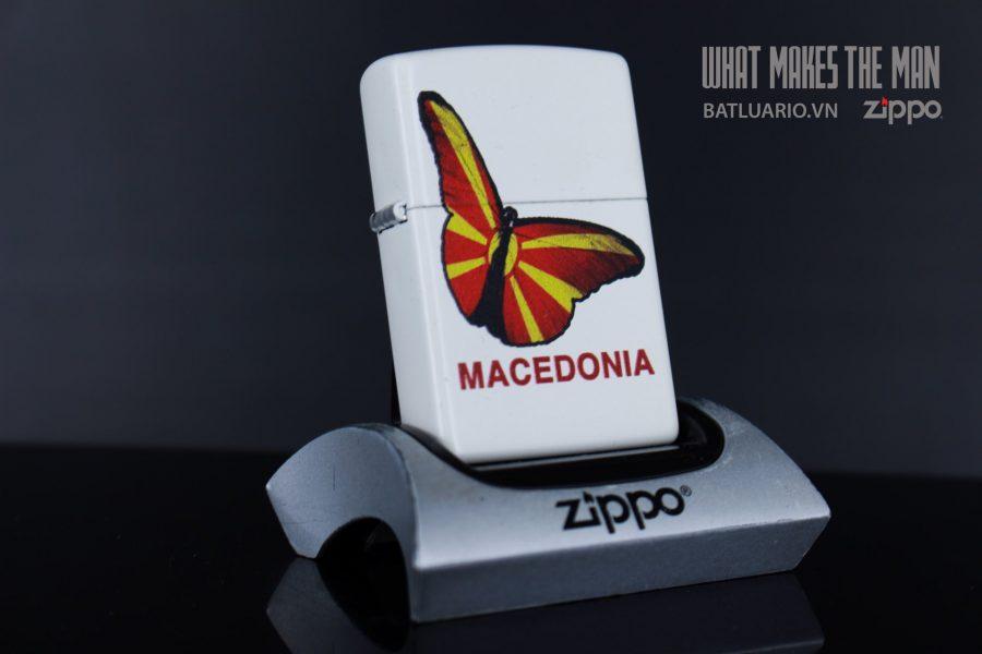 ZIPPO 214 MACEDONIA BUTTERFLY