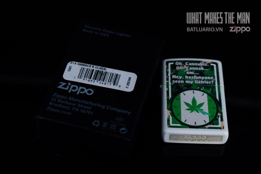 ZIPPO 214 SMOKER'S LOCK 1