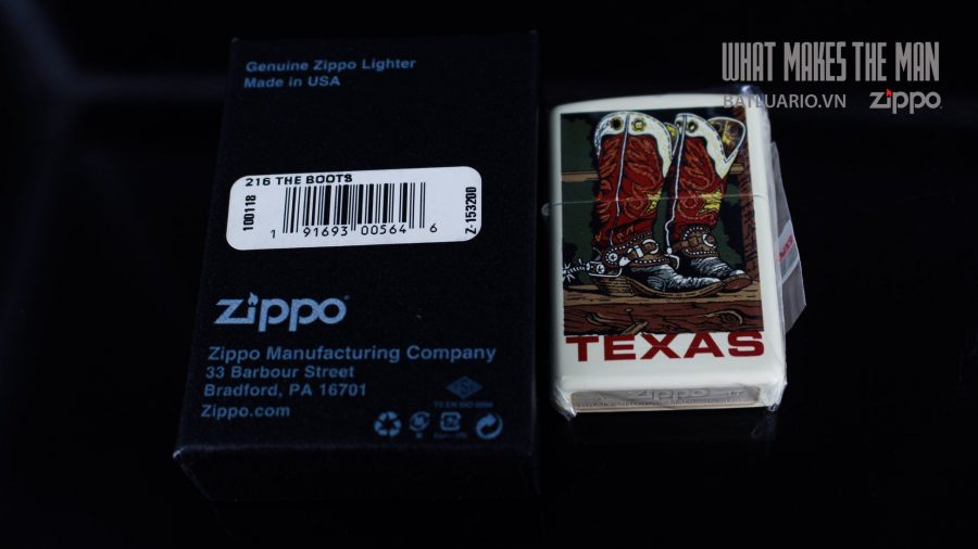 ZIPPO 216 THE BOOTS 1
