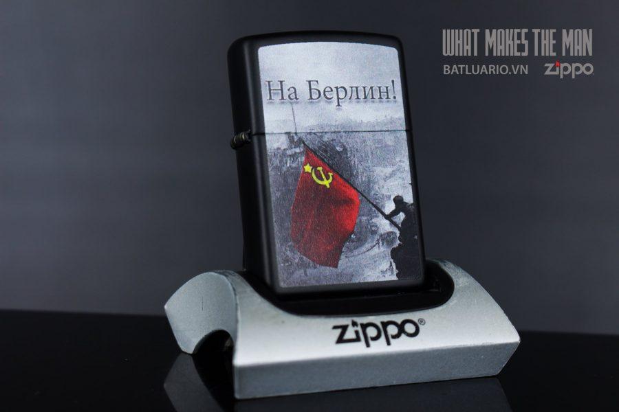 ZIPPO 218 BATTLE OF BERLIN DESIGN