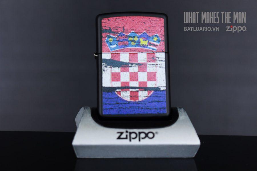 ZIPPO 218 CROATIA FLAG DESIGN 2