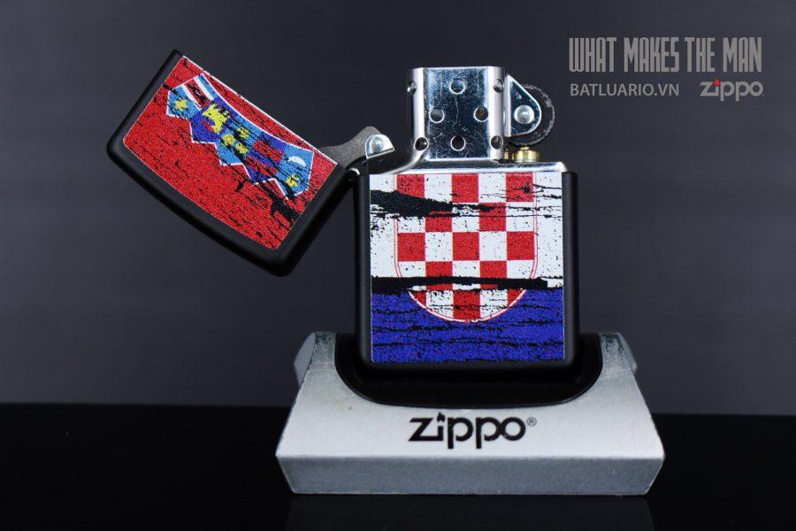 ZIPPO 218 CROATIA FLAG DESIGN 3