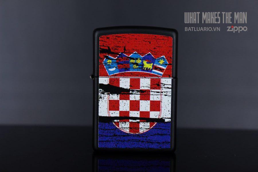 ZIPPO 218 CROATIA FLAG DESIGN 7