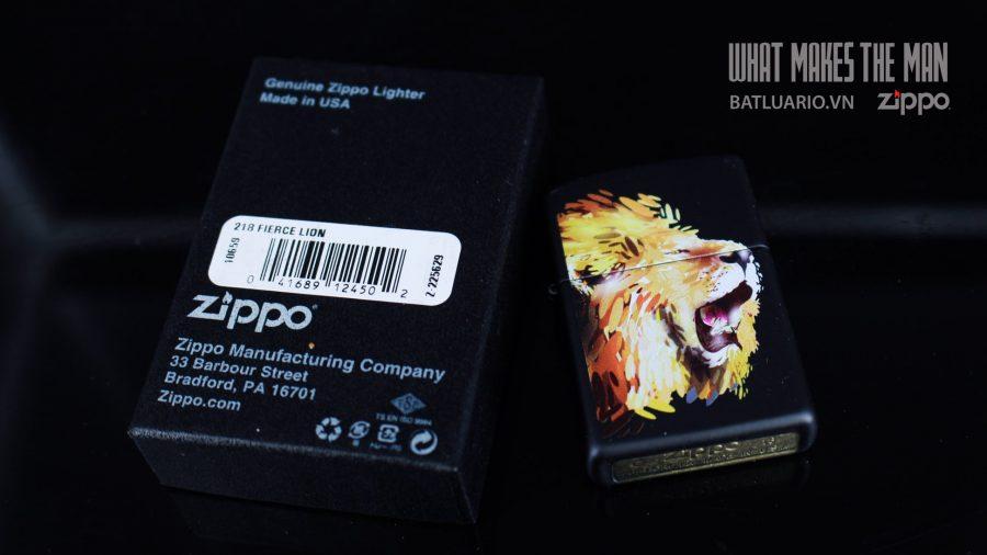 ZIPPO 218 FIERCE LION 1