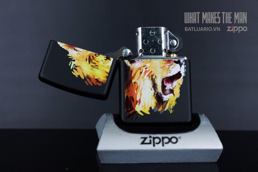 ZIPPO 218 FIERCE LION 3