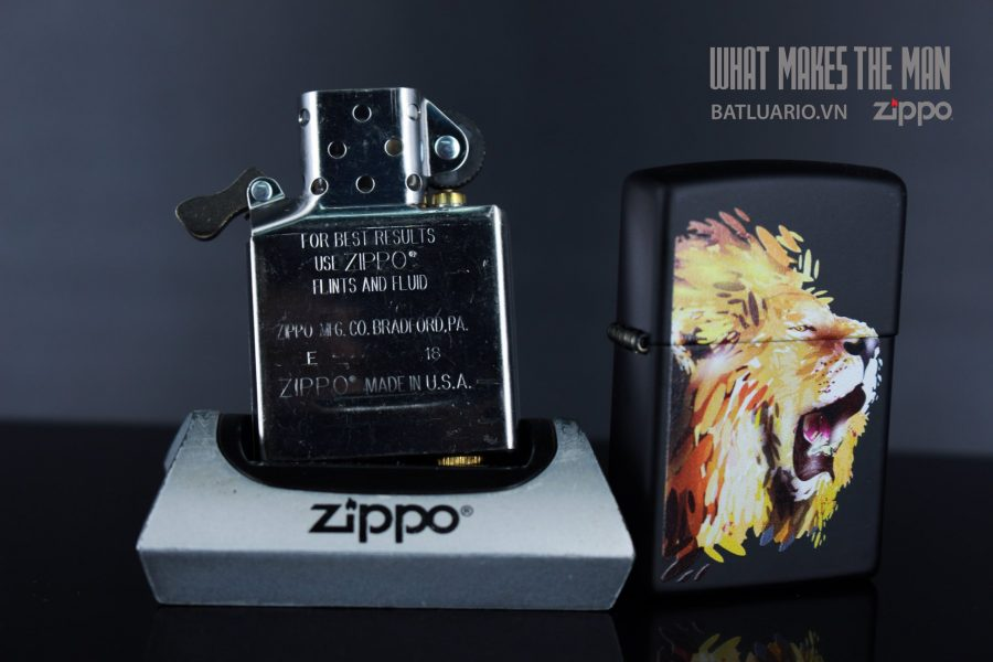 ZIPPO 218 FIERCE LION 6