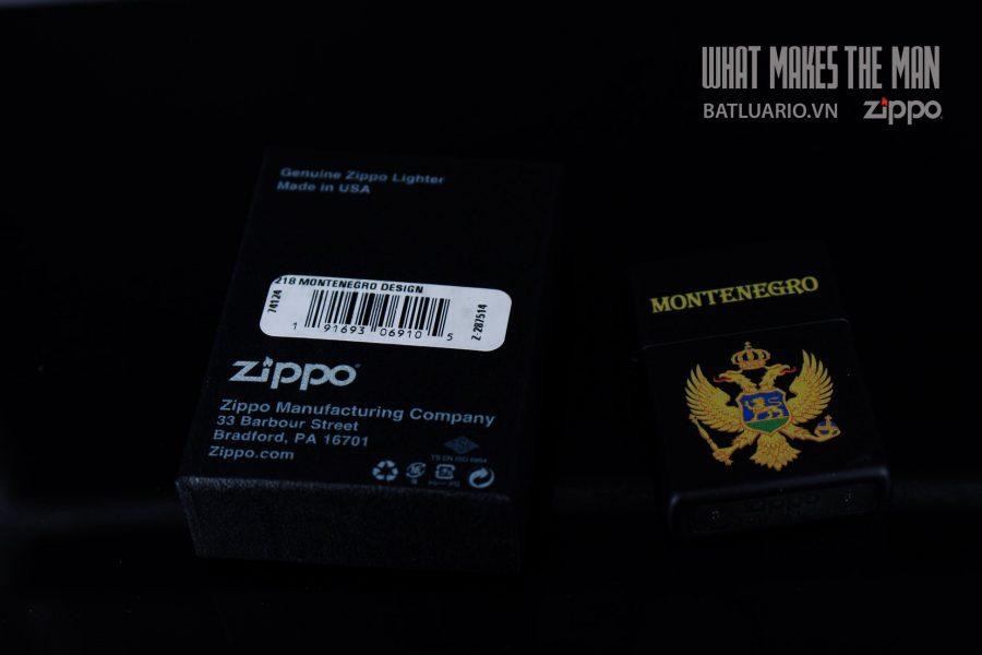 ZIPPO 218 MONTENEGRO DESIGN 1