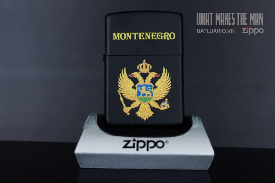 ZIPPO 218 MONTENEGRO DESIGN