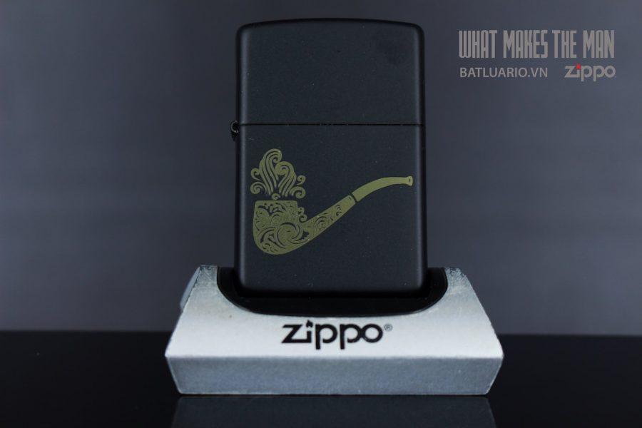 ZIPPO 218 PIPE DESIGN IN LASER 2
