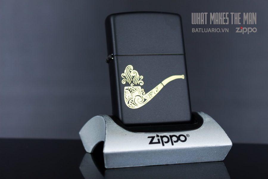 ZIPPO 218 PIPE DESIGN IN LASER
