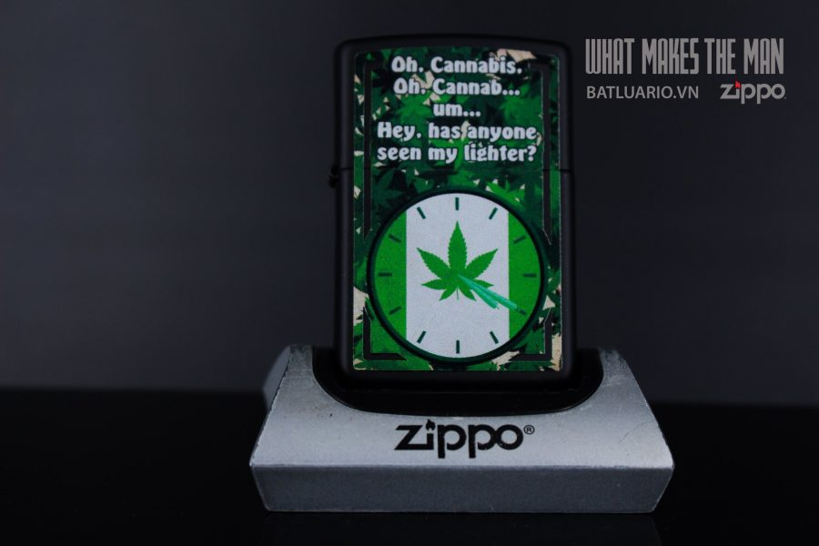 ZIPPO 218 SMOKER'S CLOCK 2