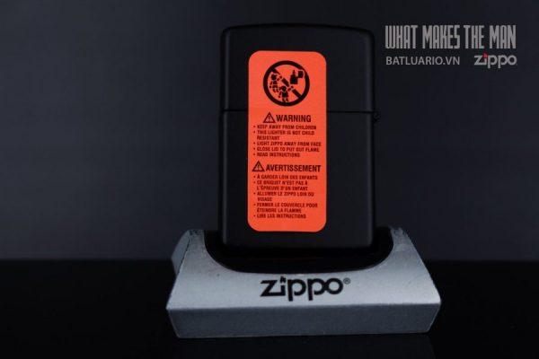 ZIPPO 218 SMOKER'S CLOCK 3