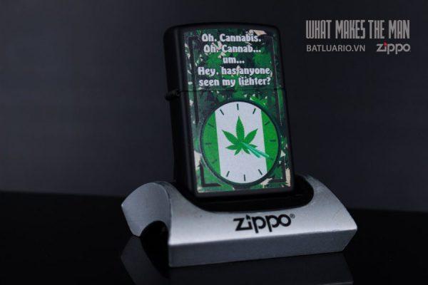 ZIPPO 218 SMOKER'S CLOCK