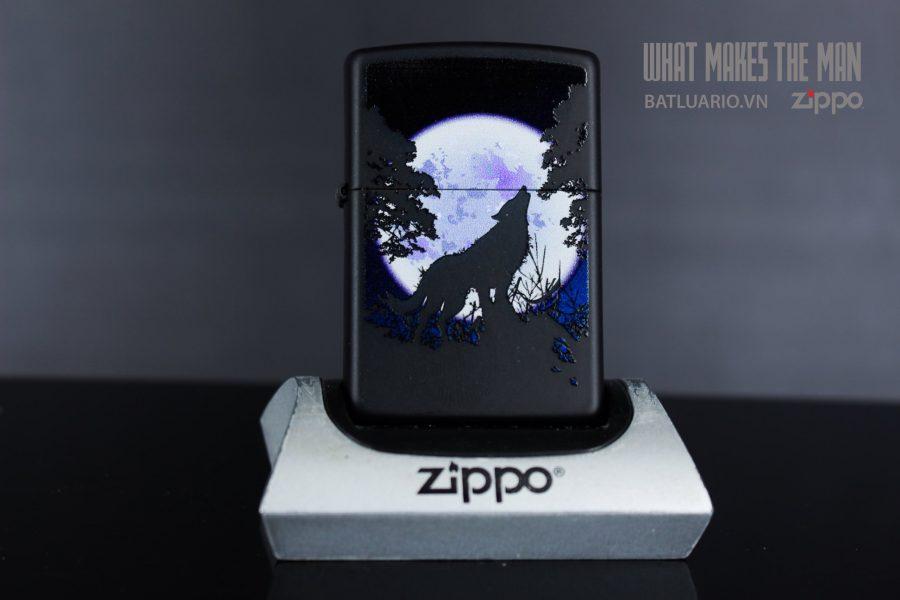 ZIPPO 218 WOLF HOWL MOON 2