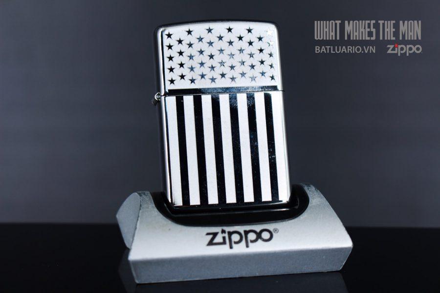 ZIPPO 250 AMERICAN FLAG
