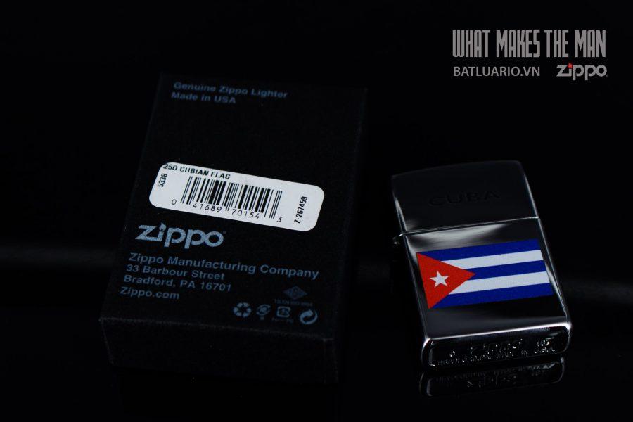 ZIPPO 250 CUBIAN FLAG 1