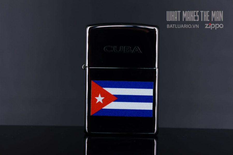 ZIPPO 250 CUBIAN FLAG 3