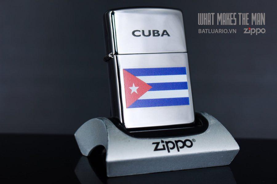 ZIPPO 250 CUBIAN FLAG