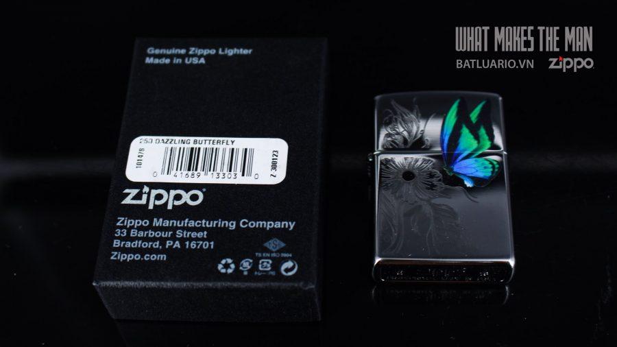 ZIPPO 250 DAZZLING BUTTERFLY 1